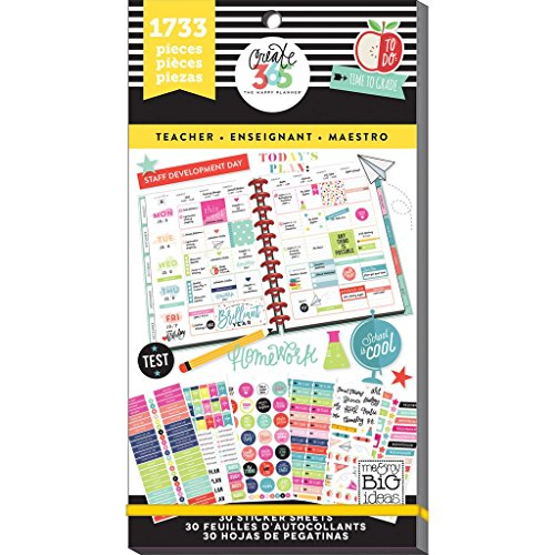 PPSV 14 Planner Sticker Big Teacher