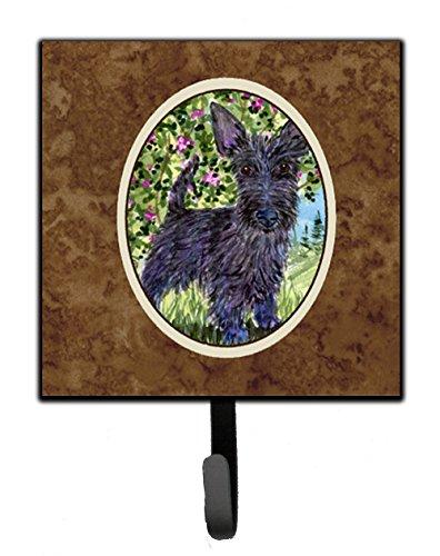 Caroline's Treasures SS8889SH4 Scottish Terrier Leash Holder or Key Hook, Small, Multicolor