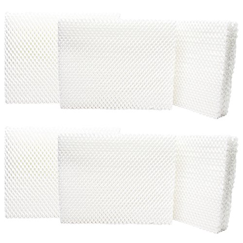 (UpStart Battery 6-Pack Replacement for Holmes HM250 Humidifier Filter - Compatible with Holmes HWF55 Air Filter)
