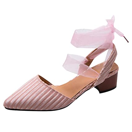 f336cced6b2ae Amazon.com: ❤ Mealeaf ❤ Women's Lace Up Loafers Breathable ...