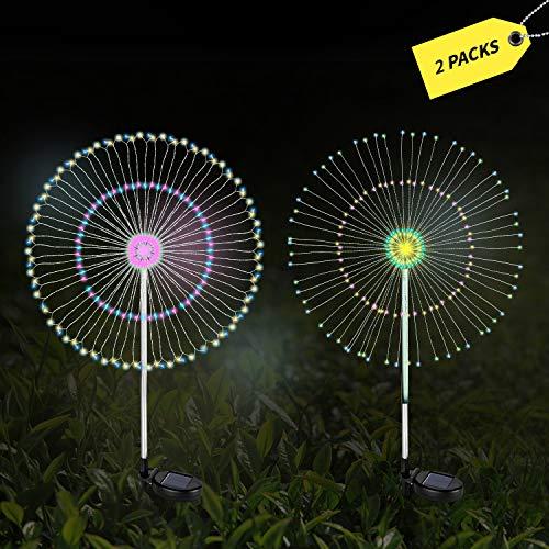 12 Led Star Christmas Solar Garden Lights in US - 6