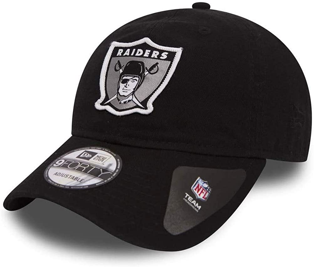 New Era NFL OAKLAND RAIDERS Patch 9FORTY Cap: Amazon.es: Ropa y ...