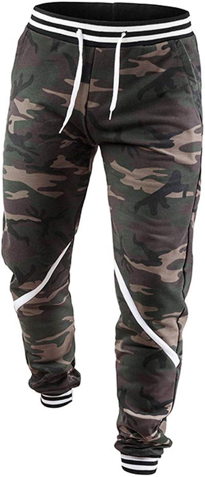 Bestow Pantalones de chándal de Hombre Primavera Joggers ...