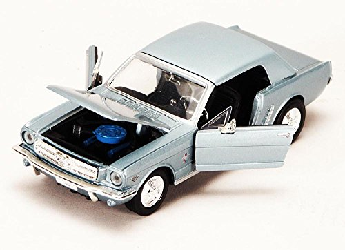 (1964 1/2 Ford Mustang, White - Showcasts 73273 - 1/24 scale Diecast Model Toy Car (Brand New, but NO BOX))