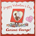 Happy Valentine's Day Curious George (Hardcover)