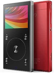 MP3 Player Sunzimeng FIIO X3 Mark III Audio Balanced Bluetooth 4.1 DSD Portable High Resolution Digital Audio Player(Black) (Color : Red)