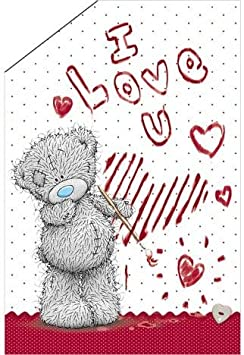 Me To You Bear Valentines Card