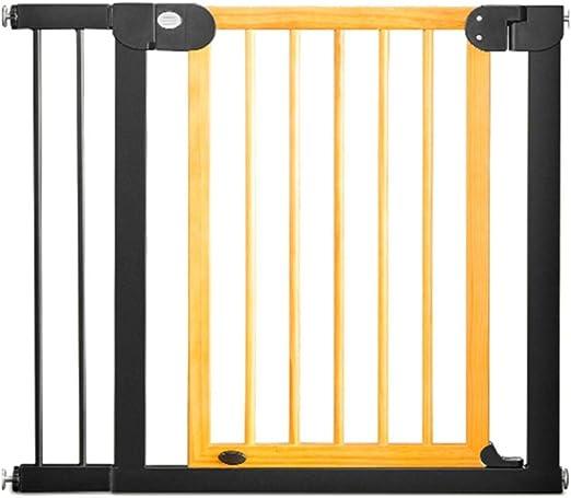Barandilla LLAAYY Bebé Puerta De La Escalera Barrera De Seguridad Haya, 76-132cm (Size : 125-132cm): Amazon.es: Hogar