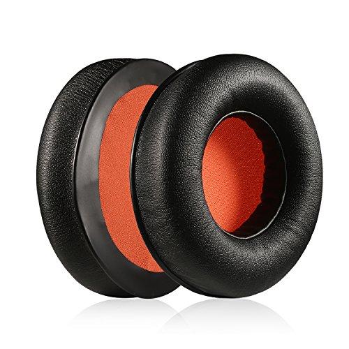 Kraken Earpads, JARMOR Replacement Memory Foam Ear Cushion Pad Cover for Razer Kraken Headphone ONLY (Black/Orange)