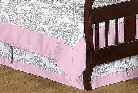 Amazon.com: Sweet diseños Jojo 5-Piece Rosa, Gris y Blanco ...