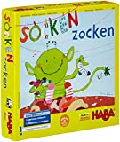 HABA Lucky Sock Dip - A Monstrously Quick Matching Game (Made in Germany)