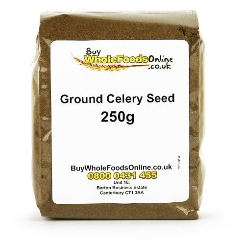 Ground Celery Seed 250g by Buy Whole Foods Online Ltd. by Buy Whole Foods Online Ltd.