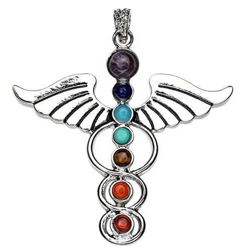 Chakras Crystal Healing Pendants Jewelry