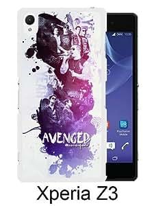 Avenged Sevenfold White Fantastic Design Sony Xperia Z3 Phone Case