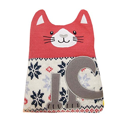 Cat Hot Water Bottle (1L Hot Water Bottle Classic Premium Hot Rubber Bag with Soft Cover, Cat)