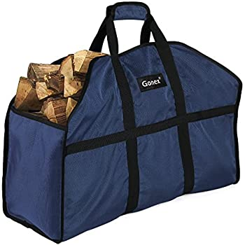 Amazon Com Firewood Log Carrier Gonex Durable And