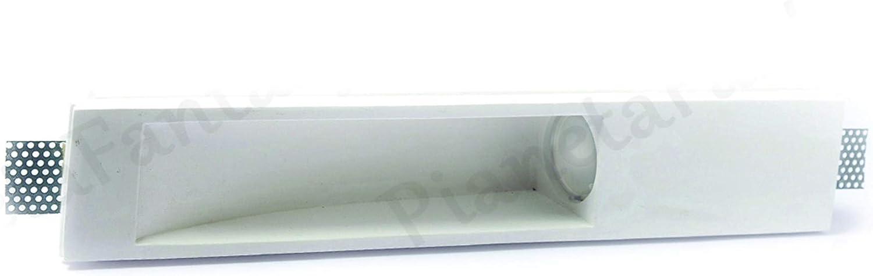 Douille GU 10/pour ampoules lED Porte Spot rectangulaire Aipiy en pl/âtre c/éramique /à disparition PF12/