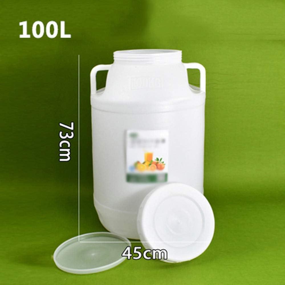 LHR Serbatoio per Acqua per Uso Alimentare Secchio per Esterno Multifunzionale Portatile con Rubinetto Serbatoio per Acqua per Auto Secchio per Enzimi Domestici Addensare Barile di Fermentaz Size:3L