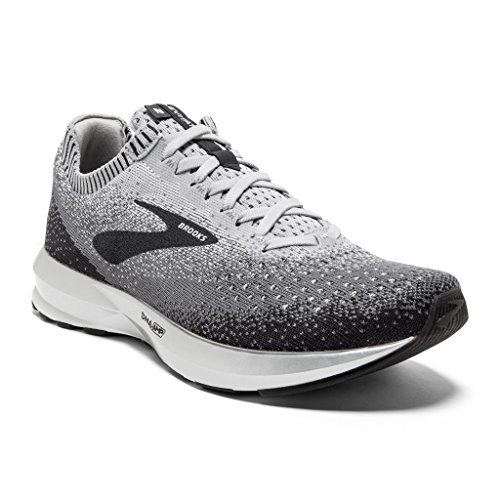 Brooks Womens Levitate 2 Running Shoe - Grey/Ebony/White - B - 9.0