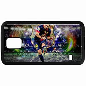 Personalized Samsung S5 Cell phone Case/Cover Skin Lionel messi barcelona 2013 Black