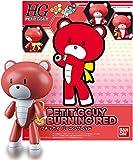 Burning Red Petite Beargguy: Gundam High Grade Petit'gguy 1/144 Model Kit + 1 FREE Official Gundam Japanese Trading Card Bundle (HG Petit'gguy #01)