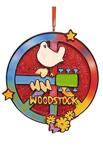 Kurt Adler Woodstock Peace Sign -