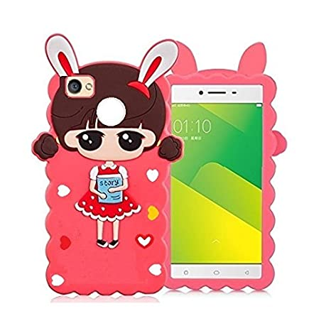 6202ab11c644 Loxxo Cute Cartoon Lovely Girl Soft Silicone Back Cover For Redmi Xiomi Mi  Max 2 - Multicolor