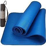 Colchonete Tapete Yoga Mat Pilates Ginástica 10mm Com Fita