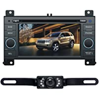 Tyso For Jeep Grand Cherokee 2011 6.2 Car DVD Player GPS Navigation Rear Camera Radio Bluetooth iPod Free Map CD6221R
