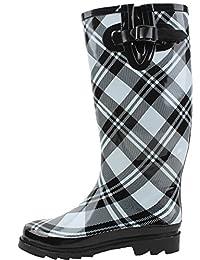 Brand New Women's Fashion Rubber Rain Boots / Bottes de pluie