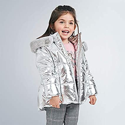 modello 4419 Mayoral Cappotto metallico da bambina