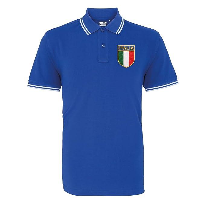 Retro para hombre Italia Rugby - Polo para hombre, Multicolore ...