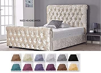 Chesterfield Castello Classy Modern Bett Rahmen Schlitten Style