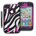 Armored CoreTM Zebra Defender Case for IPhone 4/4S…