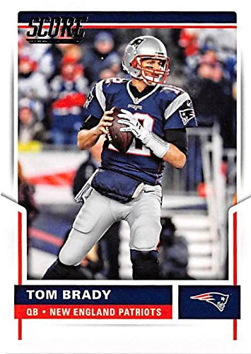 Image Unavailable. Image not available for. Color  Tom Brady football card  (New England Patriots Super Bowl Champion) 2017 Score ... 1f2be27f3