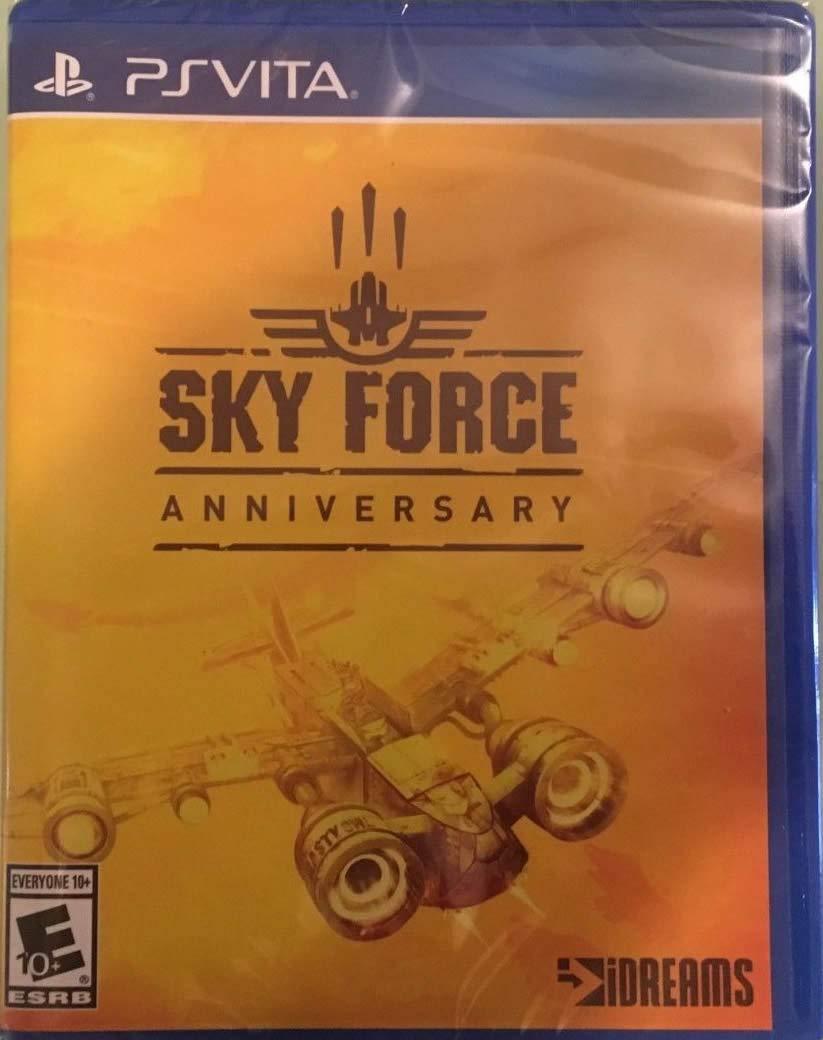 Sky Force Anniversary - Playstation Vita (Limited Run #115)