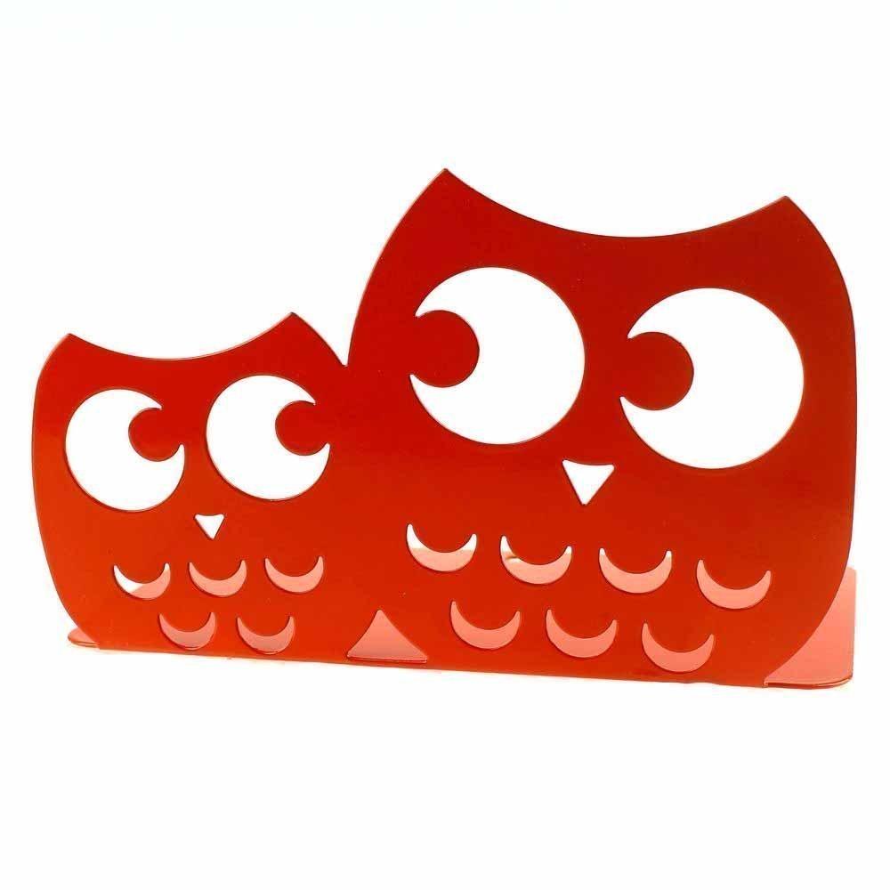 Une paire de serre-livres en m/étal antid/érapants pour enfants Serre-livres en forme de hibou Cadeaux blanc