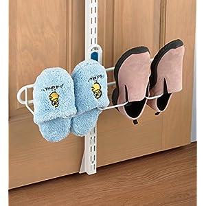 Organized Living Over-the-Door Shoe Rack - White