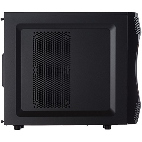 Rosewill Gaming Computer PC Case ATX Mid Tower CHALLENGER Blue LED Front Fan