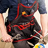 NoCry Professional Canvas Work Apron - with 16 Tool