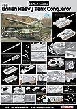 Dragon Models British Heavy Tank Conqueror Model Kit (1/35 Scale)