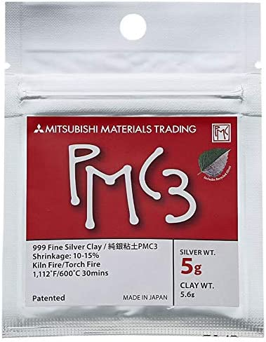 Sterling Silver Clay PMC3 Starter Kit With Manual Mitsubishi Materials F//S NEW
