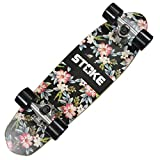 STOKE Skateboard Maple Cruiser Graphic 26×7 inch (67×18 cm)