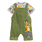 Disney The Jungle Book Dungaree Set for Baby Size 0-3 MO