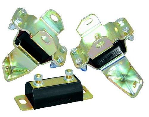 Prothane 6-1904-BL Black Motor and Transmission Mount Kit