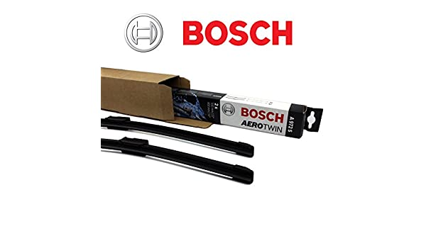 Bosch Aerotwin AR 651 S Limpiaparabrisas Set/juego de limpiaparabrisas limpiaparabrisas delantero 650 mm + 2 Gomas de Repuesto + 2 x T10 Lámpara: Amazon.es: ...