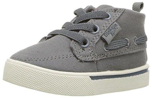 OshKosh B'Gosh Barclay Boy's Casual Chukka Sneaker, Grey, 10 M US ()