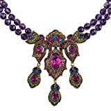 Heidi Daus Nouveau Antiquity Crystal Y Drop Necklace New With Tag