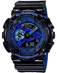 G-Shock GA110LPA-1A Luxury Watch - Black/Blue / One Size