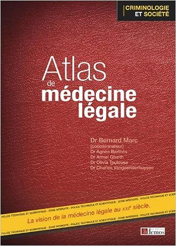 Atlas de médecine légale, by Agnès Barthès Armel Ghaith